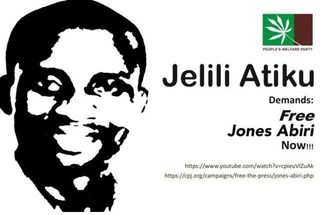 Nigeria Journalist Jones Abiri